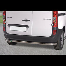 PARE BUFFLE MERCEDES CITAN 2013-, PROTECTION ARRIERE INOX DIAM 60MM
