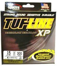 BRAID TUF-LINE XP 15lb green 300yards Spectra advanced multifilament line USA