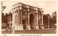 BR65690 marble arch from hyde park london  real photo  uk