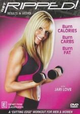 Get Ripped - Health Fitness Exercise Workout Burn Fat Carbs DVD R4