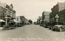 Minnesota, MN, Pipestone, Street Scene Early Real Photo Postcard
