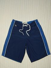 abercrombie KIDS ― Boys XL ― Navy Blue/White Swim Trunks Board Shorts ― #Z672