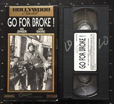 Go For Broke ! 1951  (vhs 1996) Van Johnson  Military / War Drama