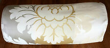 Laura Ashley Vittorio Gold Woven Jacquard Cotton Curtain Fabric 10 Metres