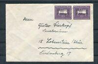 Bedarfsbrief BRD Mozart Mi.-Nr. 228 MeF nach Lobenstein - b4792