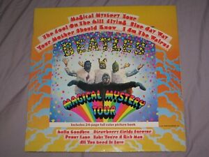 MAGICAL MYSTERY TOUR   THE BEATLES (1967) Parlophone LP Album PCTC 255 With BOOK