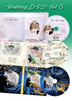Wedding Digital DVD Covers Labels Photoshop Templates PSD vol 3