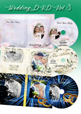 Wedding Digital DVD Covers Labels Photoshop Templates PSD vol 3