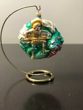 Patricia Breen Designs St George the Dragon Hand Painted Ornament #9546 Signed