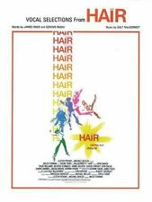 Hair : Vocal Selections by Galt MacDermot (1979, Paperback)