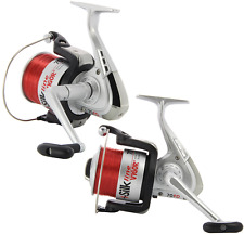 2 X LARGE BIG PIT SILK 70 SEA FISHING REELS WITH 20LB LINE BOAT PIER FISHING