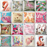 CG_ Sweet Flamingo Design Throw Pillow Case Cushion Cover Home Sofa Car Decor De