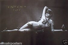 "LADY GAGA ""FAME - LITTLE CREATURES CLIMBING ALL OVER NUDE GAGA"" POSTER FROM ASIA"