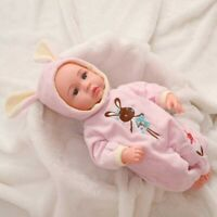 Realistic Reborn Baby Dolls, Newborn Vinyl Silicone Baby Doll Christmas discount