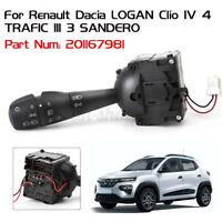 Turn Signal Indicator Headlight Switch For Renault Dacia Logan IV 4 TRAFIC