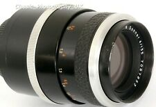 Carl ZEISS Jena Sonnar 4/135 TelePhoto Lens Universal M42 FILM SLR & DIGITAL fit