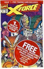 X-FORCE Vol.1 #1(8/91)POLYBAGGED w/DEADPOOL CARD(*2nd APP)3rd WARPATH(CGC IT)9.8