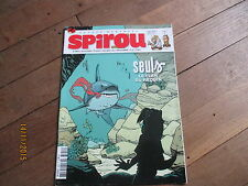 JOURNAL BD SPIROU 3654 avril  2008 + supplement abonne papertoy seuls XX