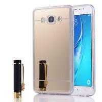 Coque Silicone arrière effet Miroir souple GOLD Samsung Galaxy J5 (2016) J510F