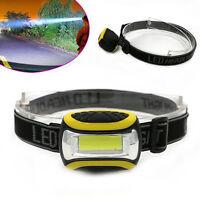 Wasserdichte COB LED Scheinwerfer AAA Taschenlampe Outdoor Headlamp