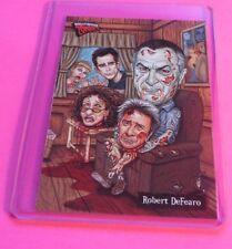 2007 HOLLYWOOD ZOMBIES Robert De Niro HORROR TRADING CARD