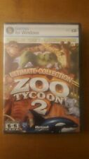 New Zoo Tycoon 2: Ultimate Collection (PC, 2008) Rare New & Sealed.