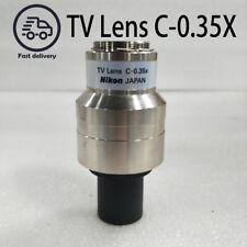 1pcs Nikon Tv Lens C 035x Microscope Trinocular Observation Head Ccd Interface