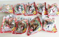 K-ON movie Santa Cosplay mini Figure complete 9 set Keion Itoen NEW F/S JAPAN