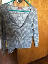 Oleana silk and wool sweater set