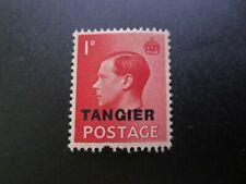 "MINT BRITISH COLONY STAMP ""TANGIER"" 1937 KING EDWARD KEVIII"
