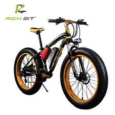 RichBit Electric Bike Powerful Fat Tire Electric Mountain Bike 48V 17AH 1000W