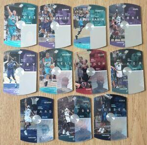 GROS LOT UPPER DECK SPX 1997 NBA BASKET COLLECTION USA