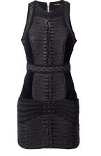 NWT Balmain X H&M Velvet & Rope Dress SZ US 6, UK 10, EU36