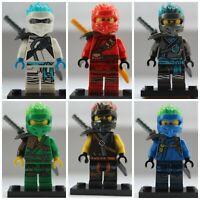 Ninjago Fire Ninjas 6 X Mini Figure Use With Lego Lloyd,Kai,Nya,Cole,Jay Zane