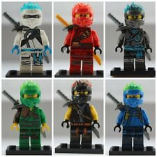 Ninjago Fire Ninjas 6 X Mini Figure Use With Lego Lloyd,Kai,Nya,Cole,Jay Zane