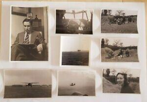 Small Group of Original WW2 Air Transport Auxiliary ATA RAF Crew Photographs 9