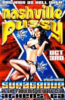 Nashville Pussy Concert Poster 2000