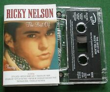 The Best of Ricky Nelson inc Hello Mary Lou & It's Late + Cassette Tape - TESTED