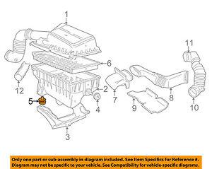 VOLVO OEM 98-07 V70 2.4L-L5 Air Cleaner Intake-Bracket Cushion 9492795