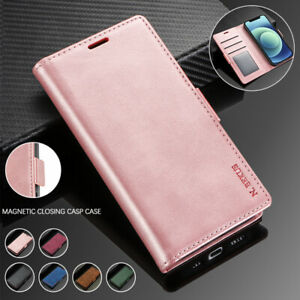 For Samsung S20 FE Note20 Ultra S10 E S9 S8 Plus Case Leather Wallet Flip Cover