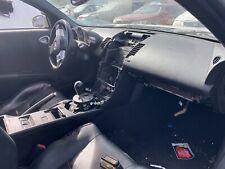 2003-2009 Nissan 350Z Passenger Dash Mounted Inflator Cover Black Upper Panel OE