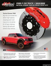 """Wilwood TX6R Front Big Brake Kit,Fits 2010-2018 Ford F-150,15.5"""" Rotors,6 Piston"""