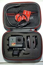 GoPro HERO 5 BLACK EDITION 4K HD IMPERMEABILE Action Camera, 64gb U3 SD, Custodia