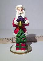 Santa Claus Christmas Miniature Grandeur Noel Victorian Village 1995