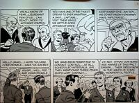 Ronald Wilkins Chance Encounters Daily Comic Strip Original Art Infiltrated