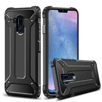 New Shockproof Case For LG G7 ThinQ LMG710EM Black Armour Dual Layer Phone Cover