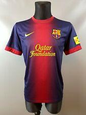 BARCELONA 2012/2013 HOME FOOTBALL SOCCER JERSEY CAMISETA NIKE ADULT SIZE M