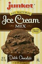 Junket Ice Cream Mix Dutch Chocolate & Strawberry Combo Pack