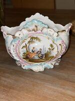 Helena Wolfsohn, Dresden Antique Porcelain Dish