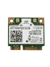 Intel Wireless 3160 3160HMW Mini PCI Express Wi-Fi Adapter IEEE 802.11ac